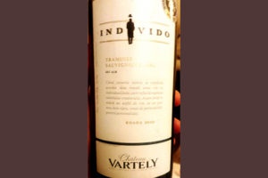 Отзыв о вине Chateau Vartely Individo Traminer Sauvignon Blanc 2016