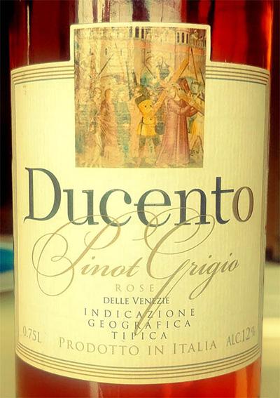 Отзыв о вине Ducento Pinot Grigio Rose 2017