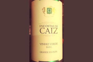 Отзыв о вине Grande Escolha Encostas de Caiz Vinho Verde 2017