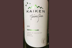 Отзыв о вине Kaiken Sauvignon Blanc Terroir Series 2015