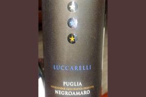 Отзыв о вине Luccarelli Negroamaro Puglia 2017