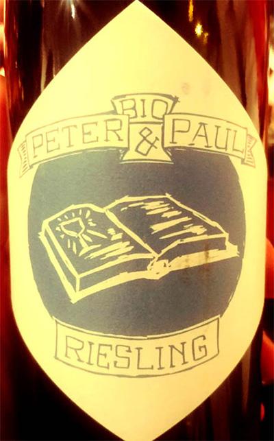 Отзыв о вине Peter & Paul Riesling Bio 2017