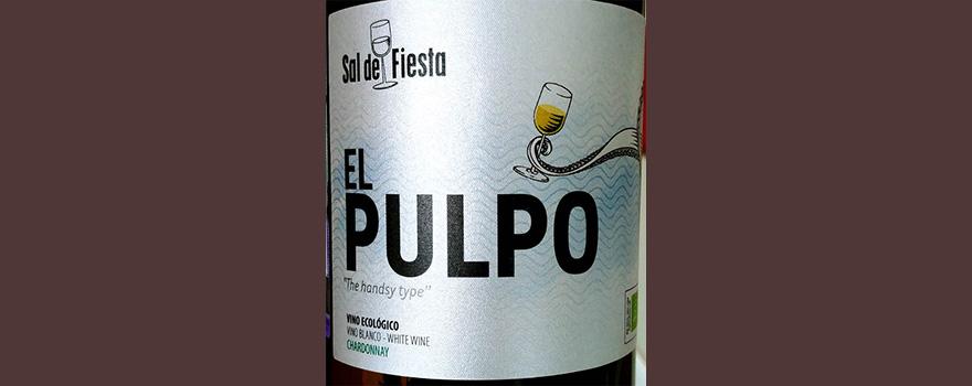 Отзыв о вине Sol de Fiesta El Pulpo the handsy type Chardonnay vino ecologico 2017