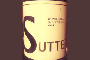 Отзыв о вине Sutter Wienviertel Gruner Veltliner klassik 2017
