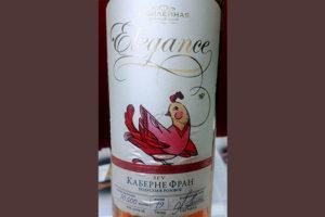 Отзыв о вине Винодельня Юбилейная Elegance Каберне Фран полусухое розовое 2017