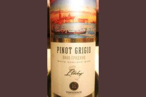 Отзыв о вине Vinvoyage Pinot Grigio semi dry 2017