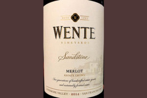 Отзыв о вине Wente vineyards Sandstone Merlot 2014
