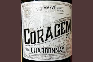 Отзыв о вине Coragem Chardonnay Vinho Regional Lisboa 2017