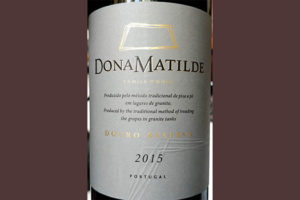 Отзыв о вине Dona Matilde Douro reserva vinho tinto 2015