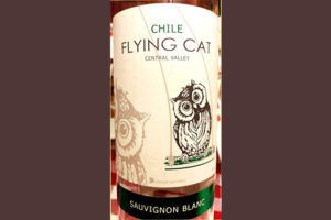 Отзыв о вине Flying Cat Sauvignon Blanc 2017