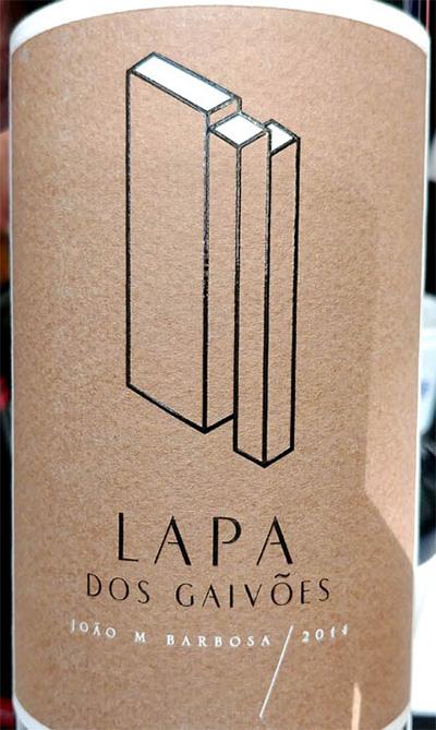 Отзыв о вине Lapa dos Gaivoes vinho tinto single vineyard 2014