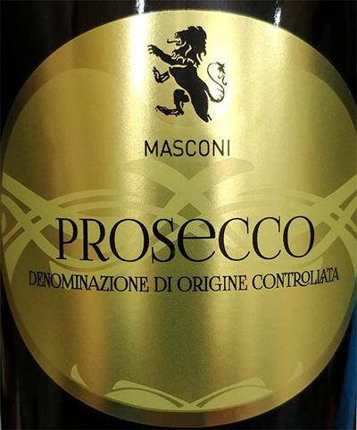 Отзыв об игристом вине Masconi Prosecco DOC