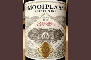 Отзыв о вине Mooiplaas Cabernet Sauvignon Estate Wine 2017
