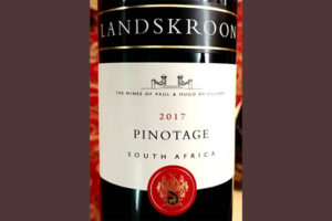Отзыв о вине Paul & Hugo de Villiers Landskroon Pinotage 2017