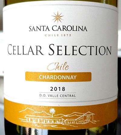Отзыв о вине Santa Carolina Chardonnay 2018