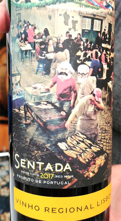 Отзыв о вине Sentada Vinho Regional Lisboa 2017