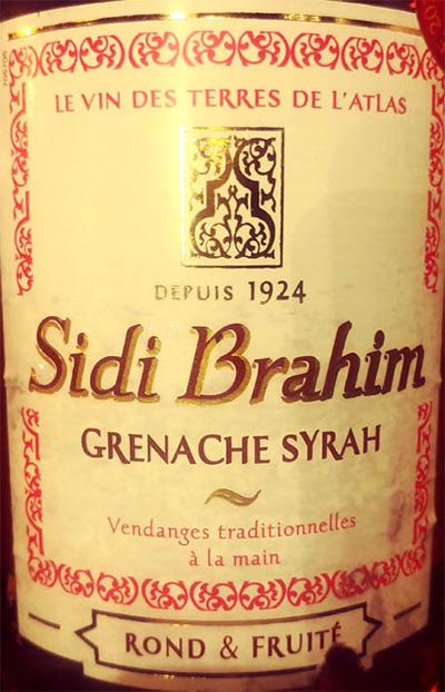 Отзыв о вине Sidi Brahim Grenache Syrah Rose 2017