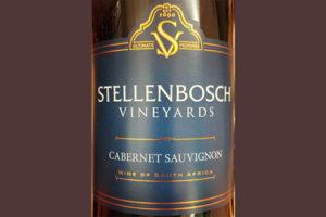 Отзыв о вине Stellenbosch Vineyards Cabernet Sauvignon 2017