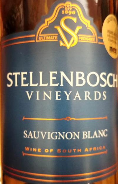 Отзыв о вине Stellenbosch Vineyards Sauvignon Blanc Bushvine 2018
