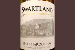 Отзыв о вине Swartland Winemaker's Collection Chardonnay 2018