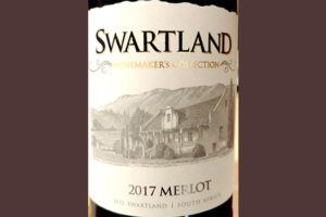 Отзыв о вине Swartland Winemaker's Collection Merlot 2017