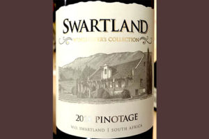 Отзыв о вине Swartland Winemaker's Collection Pinotage 2018