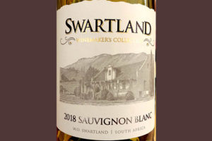 Отзыв о вине Swartland Winemaker's Collection Sauvignon Blanc 2018
