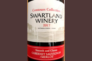 Отзыв о вине Swartland Winery Contours Collection Cabernet Sauvignon Merlot 2017