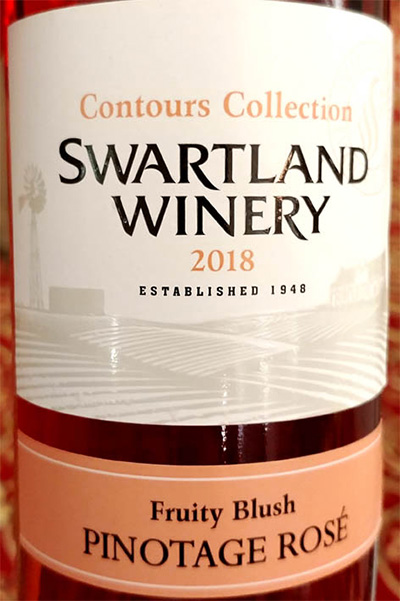 Отзыв о вине Swartland Winery Contours Collection Pinotage Rose 2018