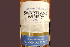 Отзыв о вине Swartland Winery Contours Collection Sauvignon Blanc 2018