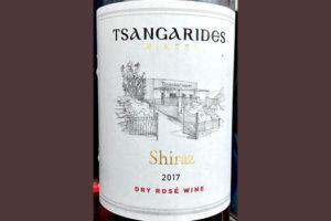 Отзыв о вине Tsangarides Winery Shiraz Rose 2017