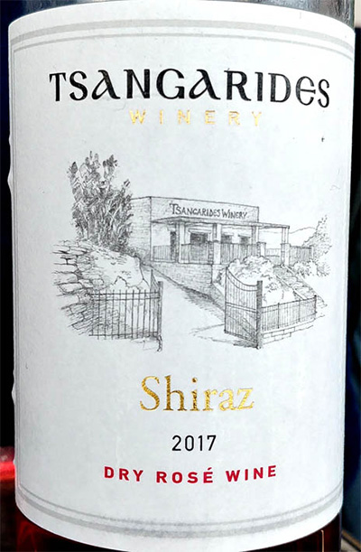 Отзыв о вине Tsangarides Winery Shiraz Rose 2017
