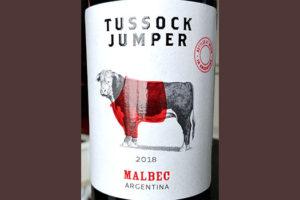 Отзыв о вине Tussock Jumper Malbec 2018