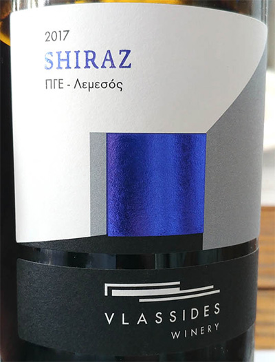 Отзыв о вине Vlassides Winery Shiraz 2017