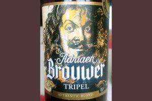 Отзыв о пиве Adriaen Brouwer Tripel authentic blond