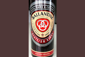 Отзыв о пиве Ballantine Scottish Stout original