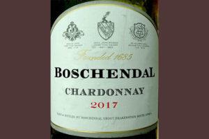 Отзыв о вине Boschendal Chardonnay 2017