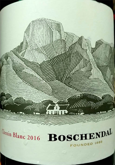 Отзыв о вине Boschendal Sommelier Selection Chenin Blanc 2016