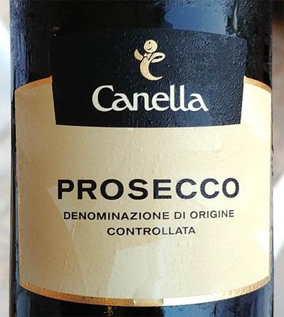 Отзыв об игристом вине Canella Prosecco Extra Dry