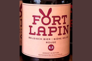 Отзыв о пиве Fort Lapin Rouge