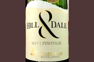 Отзыв о вине Hill & Dale Pinotage 2017
