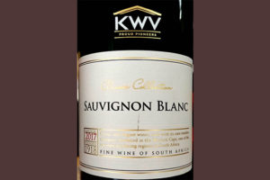 Отзыв о вине KWV Classic Collection Sauvignon Blanc 2017