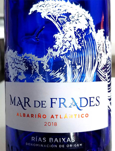 Отзыв о вине Mar de Frades Albarino Atlantico Rias Baixas 2018