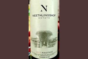 Отзыв о вине Neethlingshof Estate Pinotage 2017