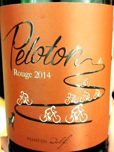 Отзыв о вине Painted Wolf Peloton Rouge 2014