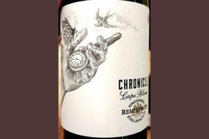 Отзыв о вине Remhoogte Chronicle Cape Blend 2015