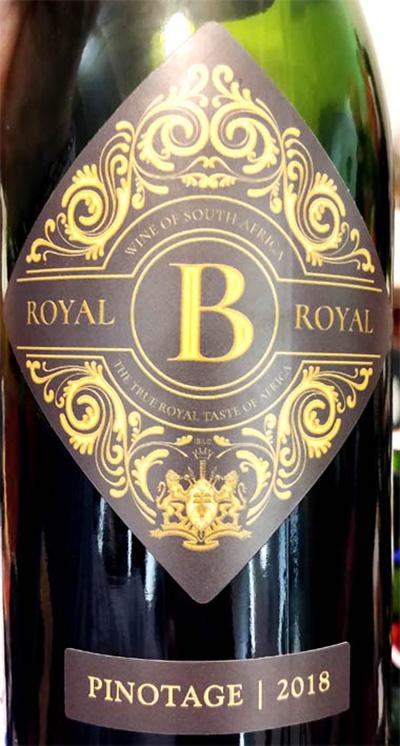 Отзыв о вине Royal B Pinotage 2018