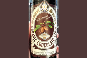 Отзыв о пиве Samuel Smith's Organic Chocolate Stout