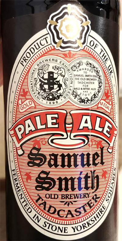 Отзыв о пиве Samuel Smith's Pale Ale