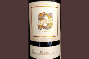 Отзыв о вине Stellenview Reserve Premium Wines Shiraz 2013